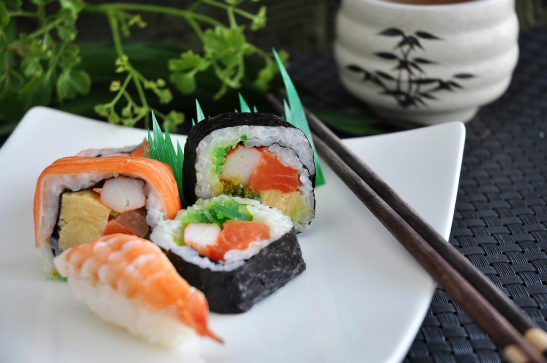 il sushi fa bene alla dieta